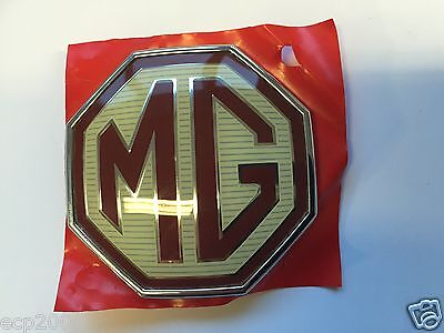 Mg Badge Mgzt Front Grille Badge Dah000040Wxa Genuine New 58Mm