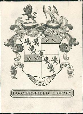 Dogmersfield Library Bookplate.  QR89