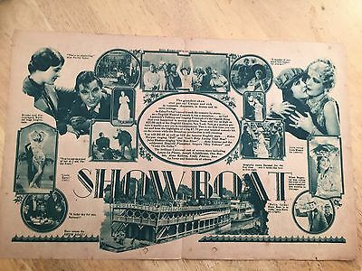 RARE India Movie Herald Showboat First Production