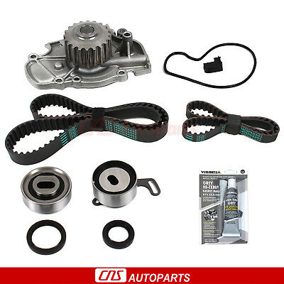Fits 94-02 Acura Honda 2.2L 2.3L SOHC VTEC F22B1 F23A Timing Belt Water Pump Kit