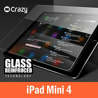 CRAZY Anti Scatch Tempered Glass Screen Protector Film For Apple iPad MINI 4