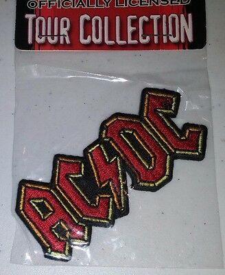 New AC/DC embroidered patch
