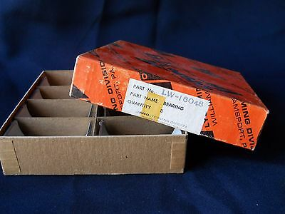 Eight (8) NEW Lycoming LW-13521  Bearings