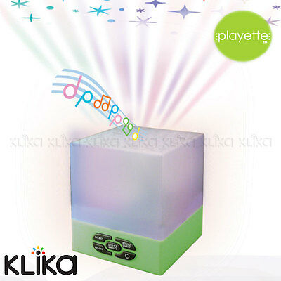 Playette Star Glow Sound Cube Baby Sleepy Musical Cot Projector Bed Soother Toy