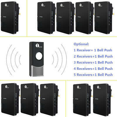 Easy Chime Plug-in Mains Wireless Door bell Chime 100m With Unlimited Receivers
