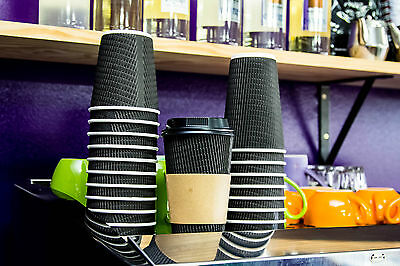 Coffee Cup Sleeves 500. 8 Oz