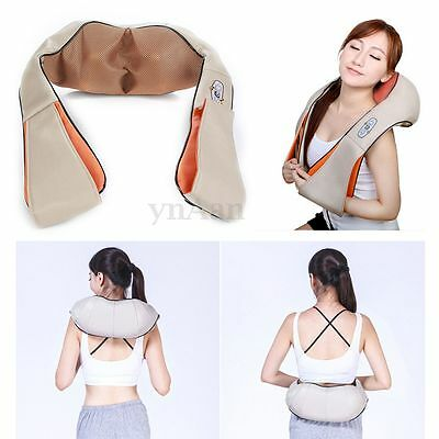 Electric Kneading Neck Shoulder Body Infrared Massager Heating Health Relaxing
