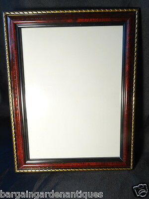 French Empire Boulle Style Reproduction Photo Picture Frame
