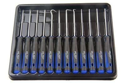 US PRO 12PC PRECISION SCREWDRIVER SET B5033 inc Hook, Torx Flat Slotted