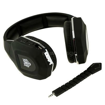 Wireless 2.4GHz Stereo Pro Gaming Headset Headphones w/Mic for PC PS4 PS3 H7Z1