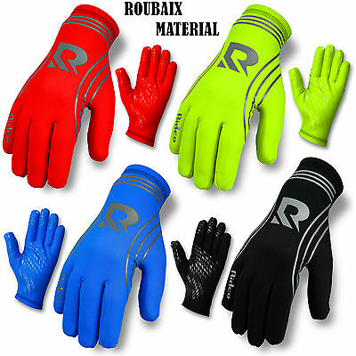 Cycling Winter Gloves Roubaix Thermal Full Finger Bicycle Running Gloves S to XL
