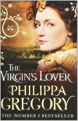 The Virgin's Lover by Gregory, Philippa Paperback Book The Cheap Fast Free Post