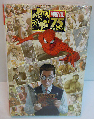 75 Years of Marvel Comics Omnibus 1st Hulk Spider-Man X-Men FF New Sealed
