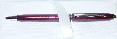 CROSS - Townsend - Ballpoint Pen - RUBY RED - Discontinued - Brand New