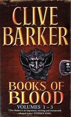 Books of Blood Omnibus, 3 Volumes: v. 1 by Barker, Clive Paperback Book The