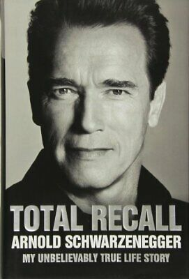 Total Recall, Schwarzenegger, Arnold Book The Cheap Fast Free Post
