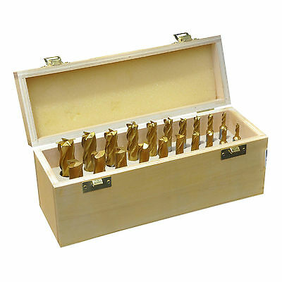 GEM20 20 Pc HSS M2 End Mill and Slot Drill Set