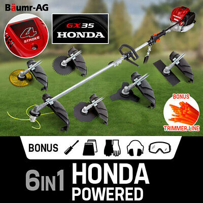 HONDA POWERED Brushcutter Multi Pole Tool Brush Whipper Snipper 4-Stroke Petrol