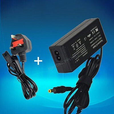 Universal 12V 4A 48W AC/DC Adapter Charger Power Supply for PC LCD monitor TV UK