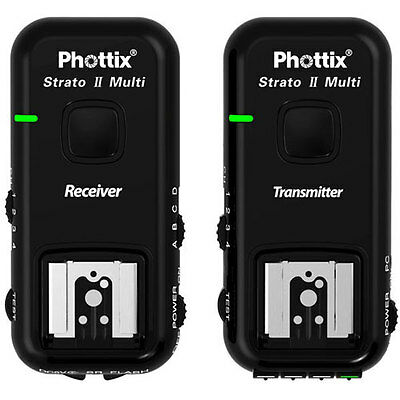 Phottix Strato II 5-in-1 Wireless Flash Trigger Set for Nikon Cameras