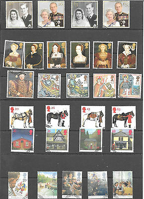 1997 Commemorative  Year  Set Of 9 Sets  In Very Fine Used Condition See Scan