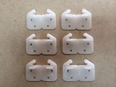 Mobile Home RV Parts Replacement Drawer Track Guide 6 Total