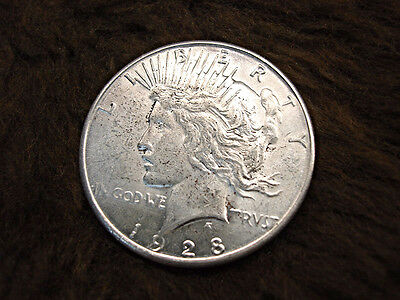 1928 S United States Peace Dollar - Tough Date High Grade Lady - Have A Look