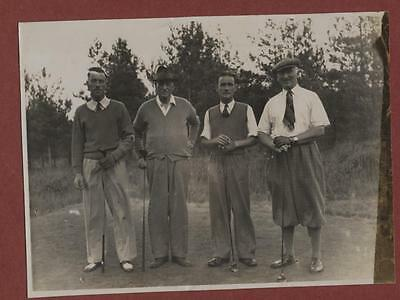 Sussex  Golfers Courier 'John Rowe' + others  vintage  photograph  fd.34
