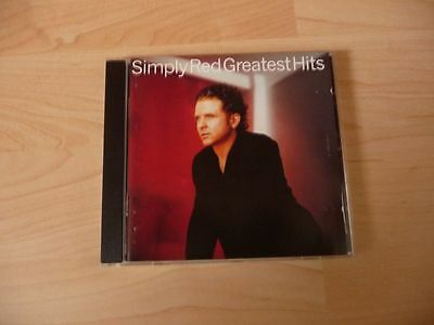 CD Simply Red - Greatest Hits - 1996 - 15 Songs