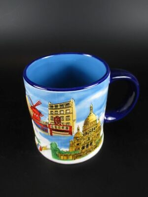 Paris Relief Kaffeetasse Eiffelturm,Kaffeebecher,Coffee Mug,Souvenir France