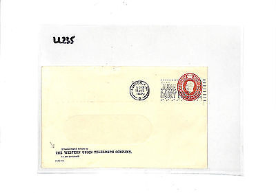 LL235 1960 GB STATIONERY Western Union Telegraph Co Private STO: Samwells-Covers