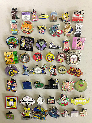 Disney Trading Pin Lot of 500 FAST FREE SHIP, 150+ different, FHD #.2
