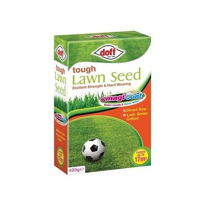 New Pack Doff Tough Grass 'Magicoat' Lawn Seed 420g Grass Seed