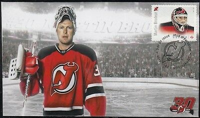 CANADA # 2872.9 MARTIN BRODEUR HOCKEY STAMP on FIRST DAY COVER, ONLY 6 MADE