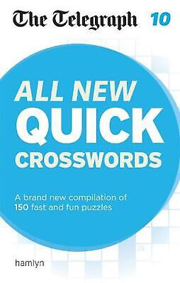 Telegraph: All New Quick Crosswords 10 by The Telegraph Media Group Paperback Bo