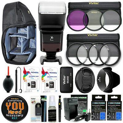 Nikon D7200 / D7100 / D750 Camera Everything You Need Accessory Kit 67MM Bundle