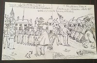 c1880 - Military Troops - original drawing