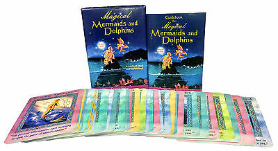 Magical Mermaids And Dolphin Oracle Cards Deck Doreen Virtue Psychic Reading