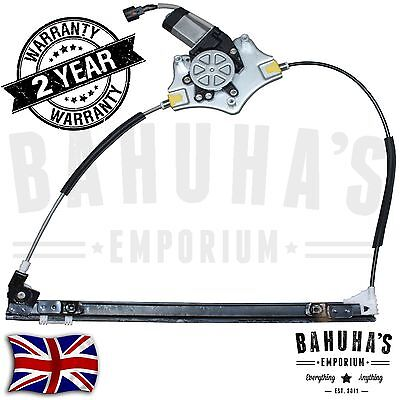 Renault Clio Mk2 Front Left Side Electric Window Regulator With 2 Pin 1998 Onw