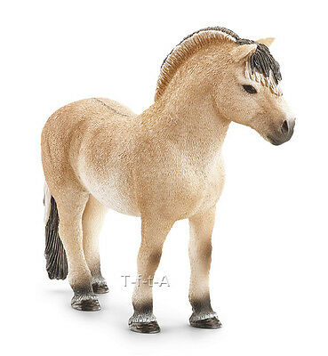 FREE SHIPPING | Schleich 13753 Fjord Horse Stallion Model - New in Package