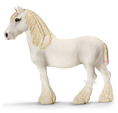 FREE SHIPPING | Schleich 13735 Shire Mare Draft Horse Model Toy - New in Package