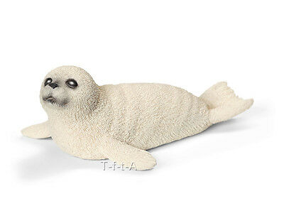 FREE SHIPPING | Schleich 14703 Harbor Seal Pup Toy Figurine - New in Package