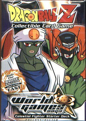 Dragonball Z World Games Saga Limited Celestial Fighter Deck New