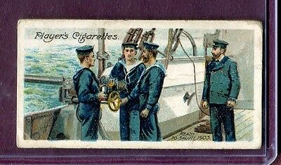1905 John Player & Sons Life On Board A Man Of War 1905 Ready To Salute