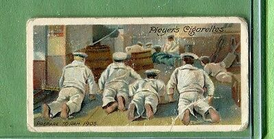 1905 John Player & Sons Life On Board A Man Of War 1905 Prepare To Ram