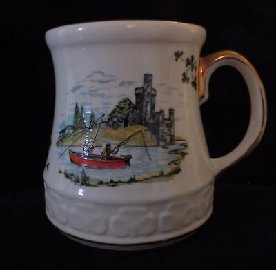 Carrigaline Pottery Co. LTD Large Coffee Mug, or Beer Stein, Cork, Ireland