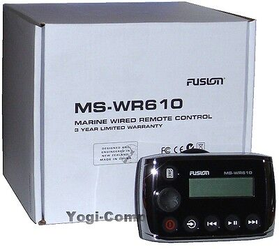 FUSION MS-WR610 MARINE Stereo Wired Remote Control MSWR610