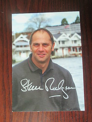 Sir Steven Redgrave Olympic Rower  Signed Autographed Photo