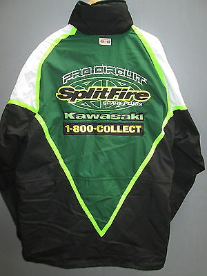 Pro Circuit Splitfire Kawasaki Genuine Team issue pit jacket coat XL PRO1009