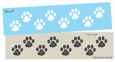 HEART SHAPED PAW Prints Craft STENCIL Dog/Cat/Puppy/Kitten